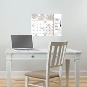 Charlton Home Troy Monthly Calendar w/ Notes Whiteboard Wall Decal
