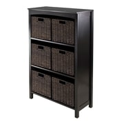 Charlton Home Martinsville 6 Drawers 3 Tier Storage Shelf