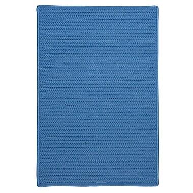 Charlton Home Chair Cushion (Set of 4); Blue Ice