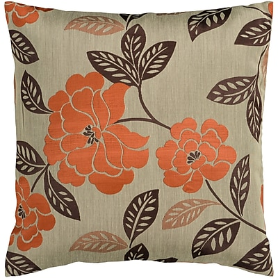 Charlton Home Nassau Throw Pillow Cover; 18'' H x 18'' W x 1'' D