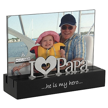 Charlton Home Pottsville I Love Papa Picture Frame