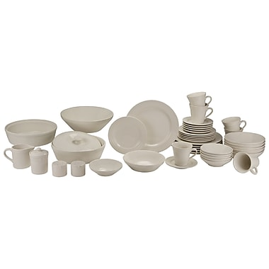 Charlton Home Amos 43 Piece Dinnerware Set