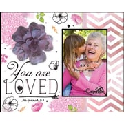 Carpentree Artful Expressions You Are Loved Picture Frame