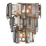 CrystalWorld Quida 3-Light Design Wall Light