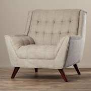 Corrigan Studio Davis Arm Chair; Dove Gray