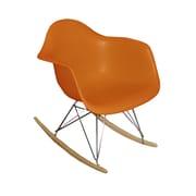 Corrigan Studio Altarichard Rocking Chair; Orange