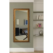Corrigan Studio Tarnished Bronze Aluminum Floor Mirror
