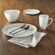 Corrigan Studio Temecula 16 Piece Dinnerware Set; White
