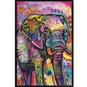 Frame USA 'Elephant Poster' by Dean Russo Graphic Art