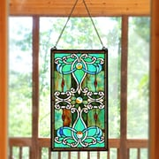 River of Goods Tiffany Brandi's Stained Glass Window Panel