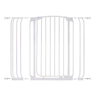Dreambaby Chelsea Tall Auto Close Safety Gate; White