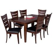 TTPFurnish Aden 7 Piece Dining Set