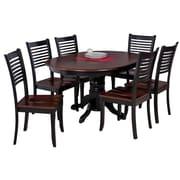 TTPFurnish Valleyview 7 Piece Dining Set