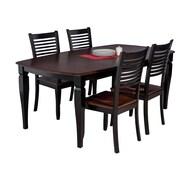 TTPFurnish Victoria 5 Piece Dining Set