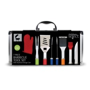 Chef Basics Aluminum Case 7 Piece BBQ Grilling Tool Set