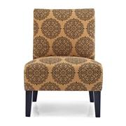 Charlton Home Sitka Slipper Chair; Spice