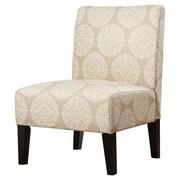Charlton Home Sitka Slipper Chair; Pearl