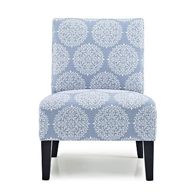Charlton Home Sitka Slipper Chair; Sky