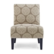 Charlton Home Sitka Slipper Chair; Stone