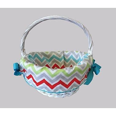 Caught Ya Lookin' Chevron Easter Cotton Basket Liner