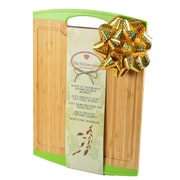 The Kitchen Love Natural Bamboo Cutting Board; Green