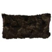 Wooded River Faux Fur Lumbar Pillow
