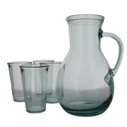 French Home Recycled Glass Urban 5-Piece Pitcher Set