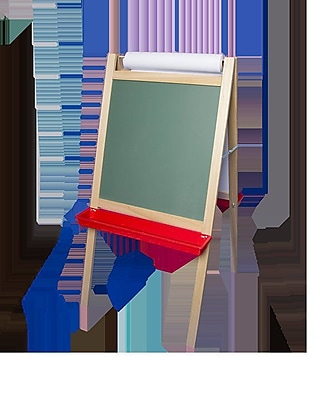 Flipside Products Crestline Products Deluxe Magnetic Paper Roll Board Easel