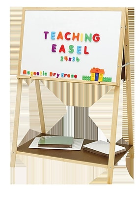 Flipside Products Crestline Magnetic Teaching Board Easel