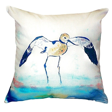 Betsy Drake Interiors Avocet Indoor/Outdoor Throw Pillow