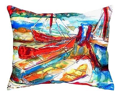 Betsy Drake Interiors Marina Indoor/Outdoor Lumbar Pillow