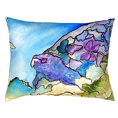 Betsy Drake Interiors Turtle Indoor/Outdoor Lumbar Pillow