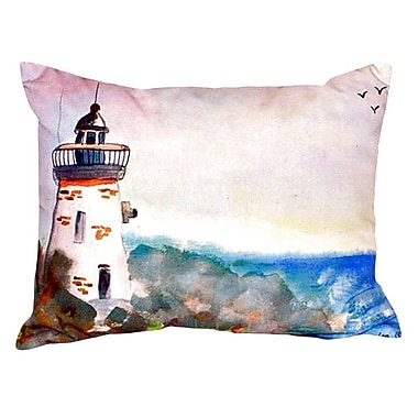 Betsy Drake Interiors Light House Indoor/Outdoor Lumbar Pillow