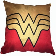 Lillowz Wonder Woman Superhero Cotton Throw Pillow