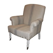 White x White Serena Arm Chair