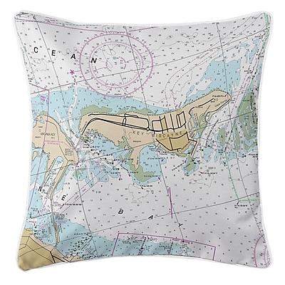 Longshore Tides Ellisburg Key Biscayne Throw Pillow