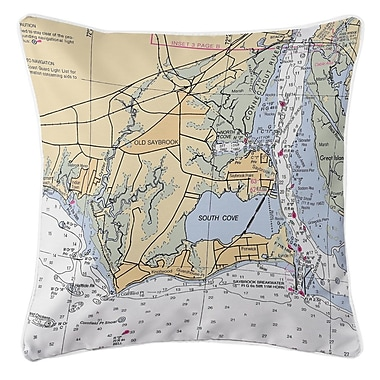 Longshore Tides Addyson Old Saybrook, CT Throw Pillow
