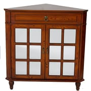 Heather Ann 2 Door Accent Cabinet; Woodgrain