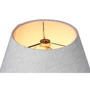 Home Concept Slip Uno 12'' Fabric Empire Lamp Shade