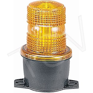 Federal Signal Streamline Low Profile Strobe Light, Amber (LP3T-012-048A)