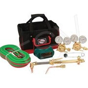 """Harris Welding & Cutting Outfit, Pipeliner Classic with Tool Bag, 6"""" Cut(4403235)"""