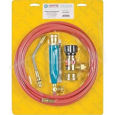Gentec Air-Acetylene Outfits Swirl Flame Quick Connect Kit (KA5BSP)