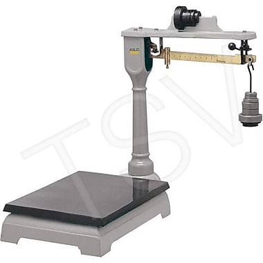 Kilotech Mechanical Platform Beam Scale, Portable, 300 kg x 100G/600 lb x 4OZ, Legal Trade (880102)
