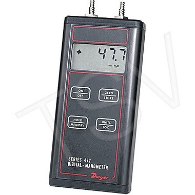 Dwyer Digital Manometer, 0/30 PSID (477AV-5)