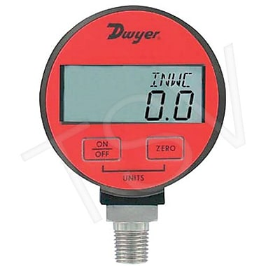 Dwyer Digital Pressure Gauge, 300 PSI (DPGA-10)