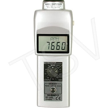 Shimpo Handheld Tachometer with 6