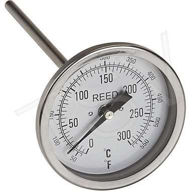 Reed Bi-Metal Thermometers, GE 50-550 F (0-260C) 6