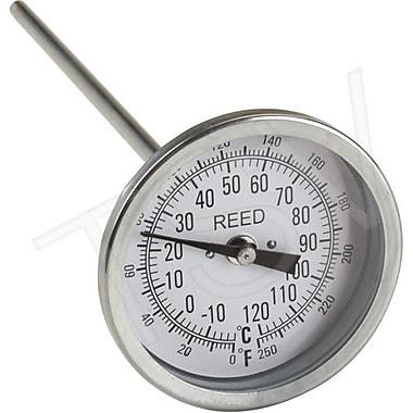 Reed Bi-Metal Thermometers, GE 0-250 F (-20-120C) 9