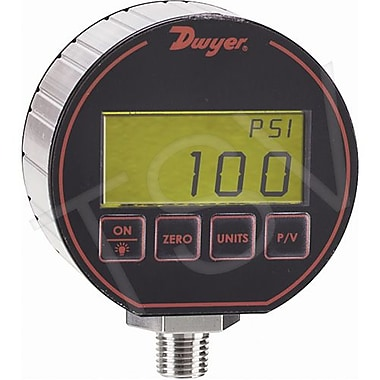 Dwyer Digital Pressure Gauge, 100 PSI (DPG-105)
