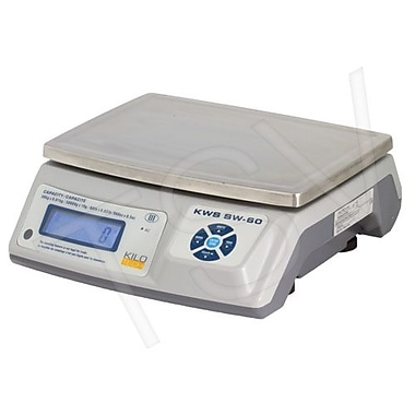 Kilotech Electronic Digital Weighing Scales, 6 lb, Legal Trade (881174)